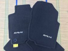 2013-2015 BLACK TOYOTA RAV4 Rav 4 FLOOR MATS OEM  PT206-42130  Set of 4