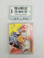 The Games Summer Edition Commodore 64 C64 Computer Game Double Jewel Case
