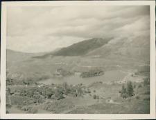 New Zealand, Piripaua Power Station on the Lake Waikaremoana  Vintage silver pri