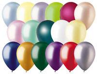 "12- 12"" Pearl Latex Balloon Wedding Birthday Party Baby Shower Graduation Mother"