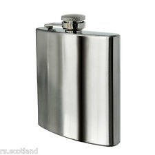8oz Hip Flask Stainless Steel New Stock