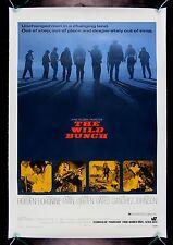 "THE WILD BUNCH Movie Silk Fabric Poster 17/""x24/"" RARE Western"