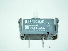 GENUINE OEM MAYTAG AMANA START SWITCH #33001861 #33001618 #37001070 #33002356