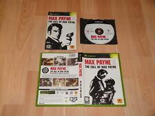 MAX PAYNE 2 THE FALL OF MAX PAYNE DE REMEDY PARA LA PRIMERA XBOX EN BUEN ESTADO