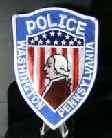 Patch Retired: Washington, PA Police Department Patch