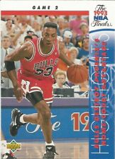Scottie Pippen Finals Game 2 Upper Deck 1993/94 NBA Basketball Card #199