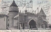 Postcard Johnstown Flood Coney Island NY 1905