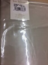 YVES DELORME TRIOMPHE PIERRE SATIN FITTED SHEET DOUBLE