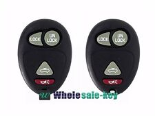 2 Replacement 4 Button Keyless Entry Remote Control  for buick Regal Rendezvous