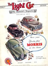 The Light Car - Show Review issue November 1953