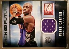 2013-14 Panini Elite Vince Carter Back To The Future Game Worn Jersey #6 Raptors