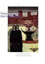 Belagerte Stadt XL Kunstdruck 1929 von Fritz Erler * Frankenstein Tod Trauer