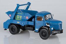 BERLIET GLR 8 R 1957 - Multibenne Marrel Travaux LELY - 1/24 MAQMADON 4343