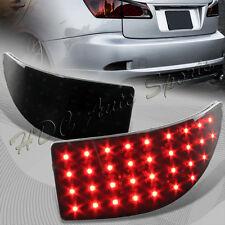 For 2006-2013 Lexus IS250 IS350 JDM Smoke Len LED Rear Bumper Brake Light Lamps