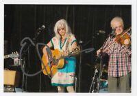 Emmylou Harris (USA) Country Legende 13 Grammy's original signiert/signed !