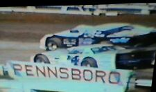 1980's DIRT TRACK WORLD CHAMPIONSHIP PENNSBORO 10  DVD SET DIRT LATE MODEL DVDS