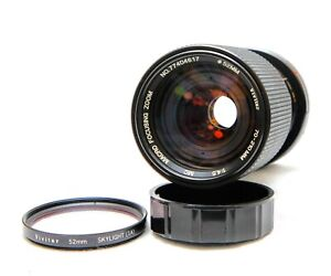 Vivitar  MC 70-210mm f 4.5 Macro Focusing Zoom Lens PK Mount + Lens Hood