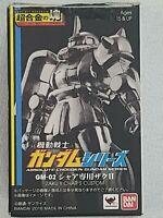 BAN DAI Absolute Chogokin Gundam Series Zaku II CHAR'S CUSTOM  (GM-02)