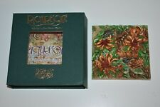Picturesque A Frog'S Life Tile Harmony Kingdom Byron's Secret Garden Pxge3 Box
