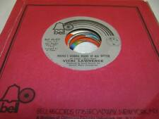 Pop Unplayed NM! 45 VICKI LAWRENCE Mama's Gonna Make It All Better on Bell