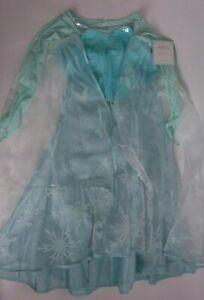 NWT Pottery Barn Kids Disney Elsa Frozen costume, size 4-6 *tiny flaw*