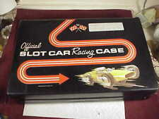 Official Slot Car Racing Black Vinyl Case Standard Plastic Products &Spare Parts