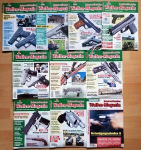 Waffenmagazin 1997 komplett Zeitschrift Pistolen Hefte internationales Jahrgang