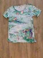 Vintage Deadstock NOS 1970's Polyester Disco Shirt
