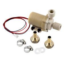 12V Solar Hot Water Pump Circulation High Quality Food Grade 212° F w/ Coupler E