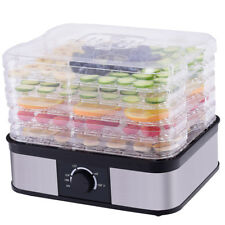 Food Dehydrator 5 Tray Food Preserver Fruit Vegetable Dryer Temperature Control