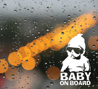 Baby On Board Bumper Sticker Decal