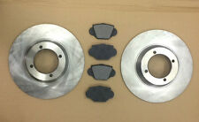MGA BRAKE DISCS AND PAD SET ROADSTER AND COUPE MODELS BRAND NEW