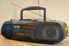 SONY CFD-8 Stereoanlage CD Radio Kassetten Recorder Ghettoblaster Boombox