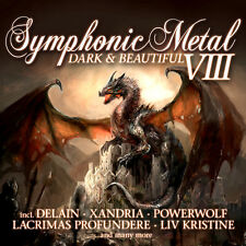 CD Symphonic Metal 8 Dark and Beautiful von Various Artists  2CDs
