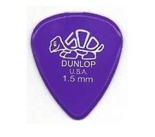 Jim Dunlop Púas Guitarra Delrin - 12 paquete de calibre 1.5