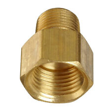 """1/2"""" Female to 3/8"""" Male NPT Brass Pipe Fitting Adapter Screw Connector Durable"""
