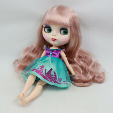"""Takara 12"""" Neo Blythe Long Hair Joint body Nude Doll from Factory TBY216"""