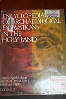 Encyclopedia of Archaeological Excavations in the Holy Land
