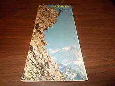 1964 Utah State-issued Vintage Road Map