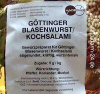 Göttinger-, Blasenwurst- und Kochsalamigewürz, 1kg, Gewürz, Gewürze,