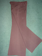 Brown Wide Leg Trousers by Principles Size 12 BNWT