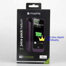 Mophie Juice pack helium 1500mah for iphone se/iphone5s/5 edition purple shell