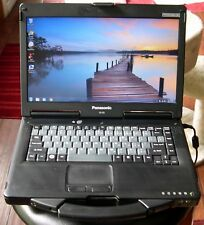 Lot of 2 Panasonic Toughbook CF-53 Laptops WIRELESS GOBI 2000 WIN 7 READY TO USE