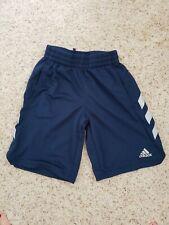 Adidas Boys Shorts small 8 blue