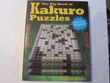 Big Book of Kakuro Puzzles 900+ Puzzles 1/2 Soduku 1/2 Crossword Use #1-9