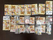 RE-MENT Rare Full Rilakkuma Warm Fluffy Home Meals, 1:6 Barbie kitchen food mini