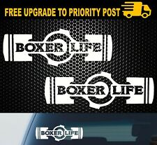 Boxer Life Boxer Engine Stickers Decals For Subaru WRX STi JDM BRZ Scion X2