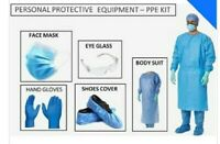 Set of 10 x Disposable PPE Kit for Doctors in OPD General Wards Clinics 70 GSM