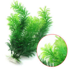 30CM Artificial Green Water Plant For Fish Tank Aquarium Plastic Decor Ornament