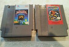 Captain Skyhawk  & Dash Galaxy (NES, 1989) Nintendo Game Cartridge Only Lot